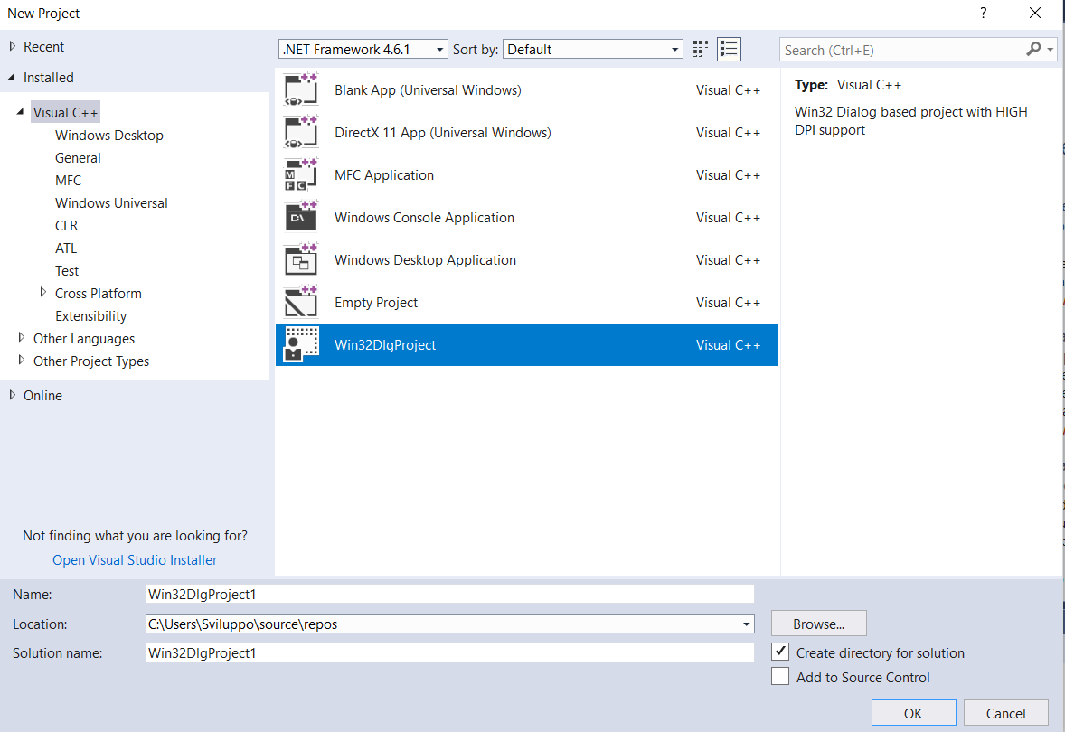 Visual Studio Project
